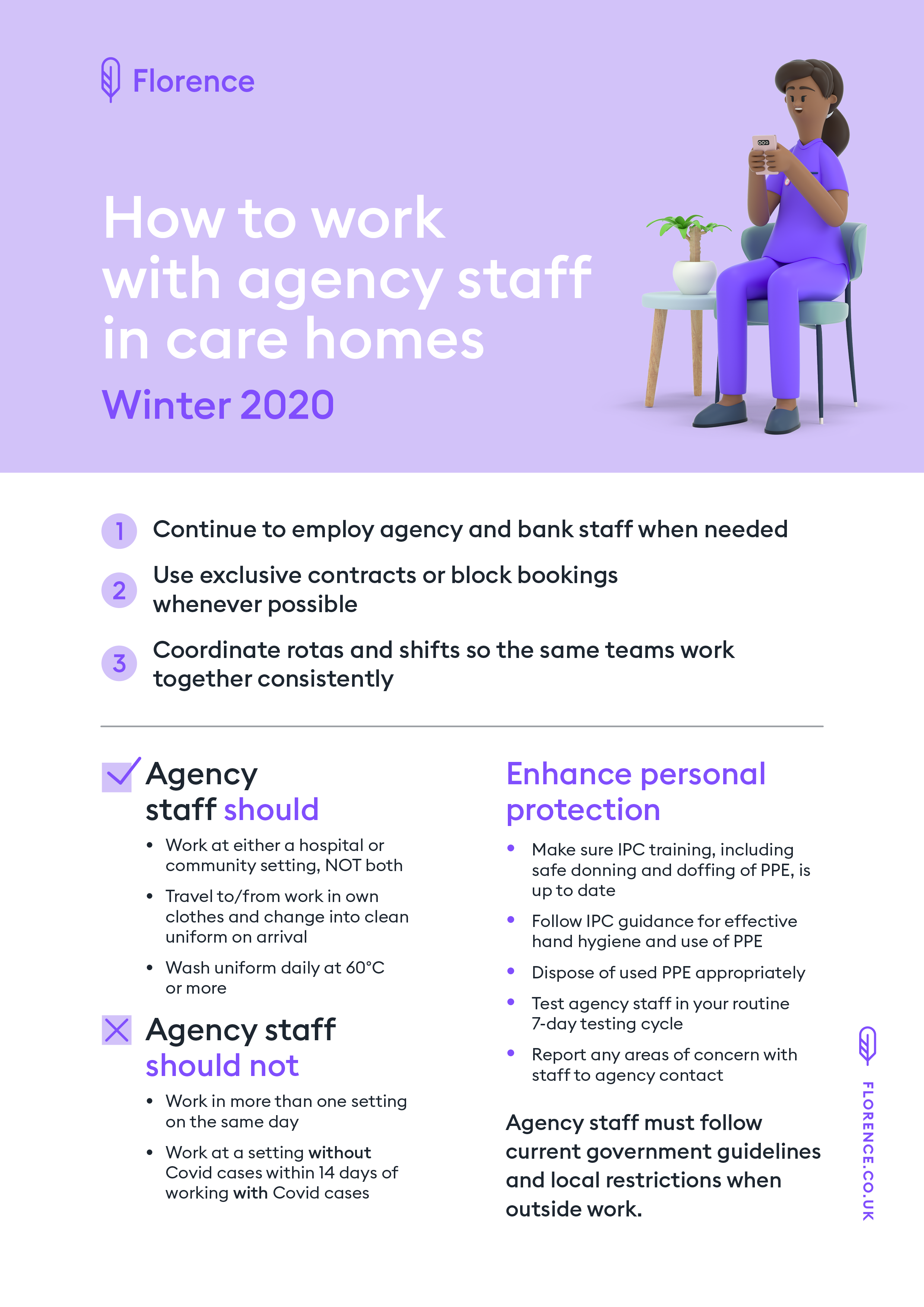 How to work with agency staff winter 2020
