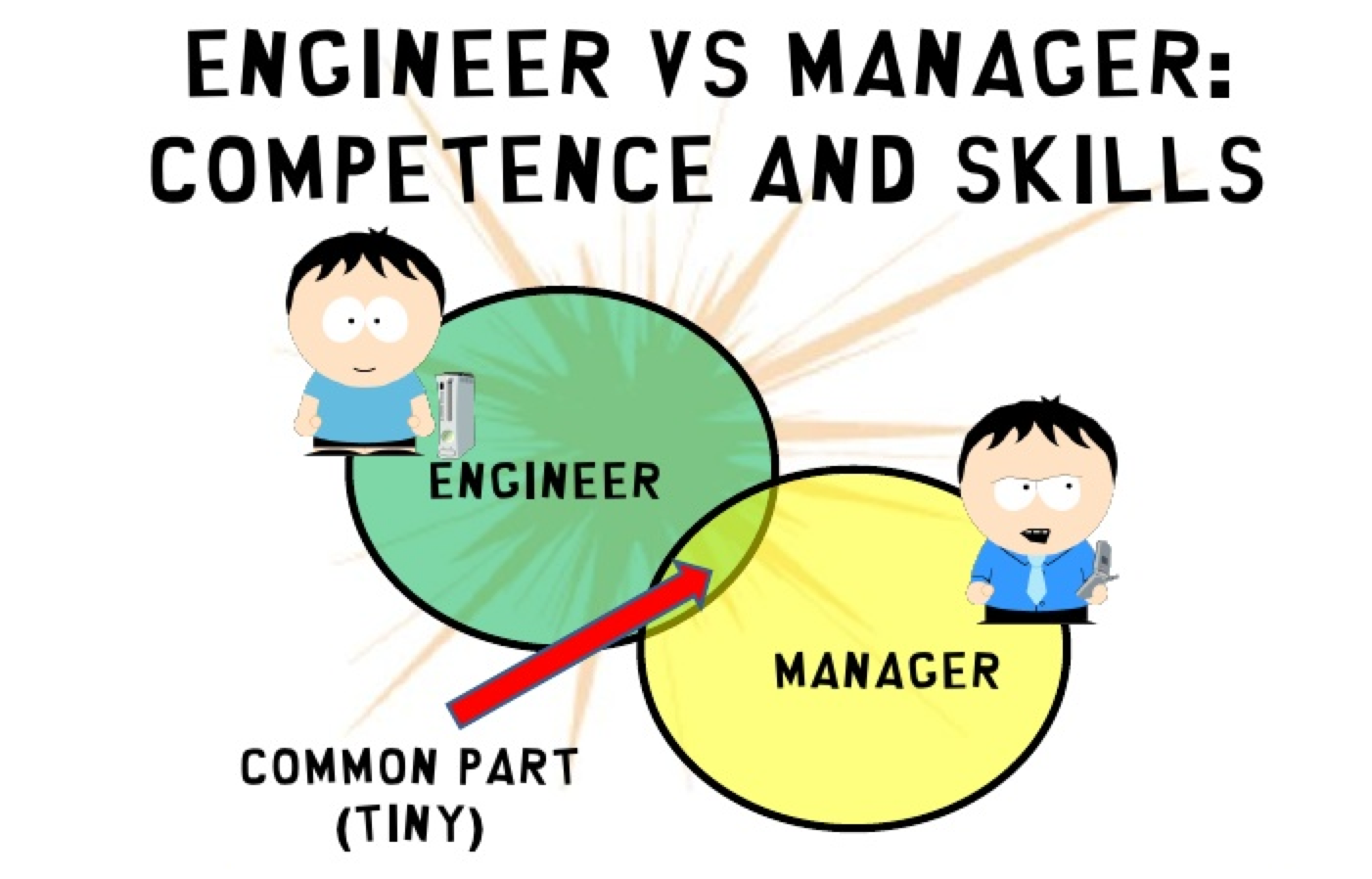Engineer vs Manager: competence and skills