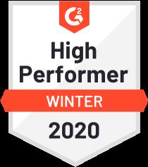 G2 Crowd High Performance Badge