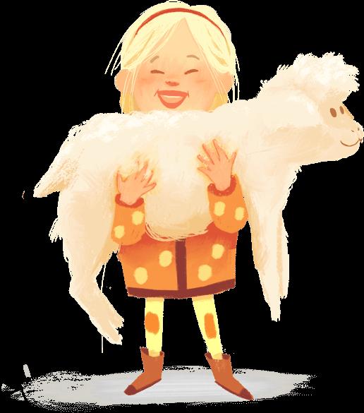 N&F Character Illustration - Farmer
