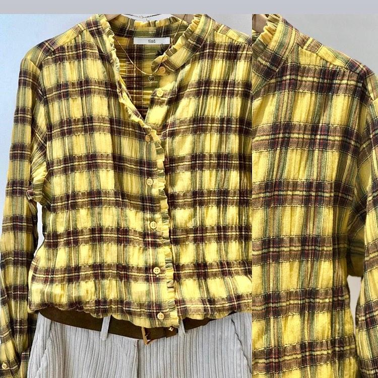 Carreaux coton jaune 💛´https://www.instagram.com/p/CGdLyGuly8Z/