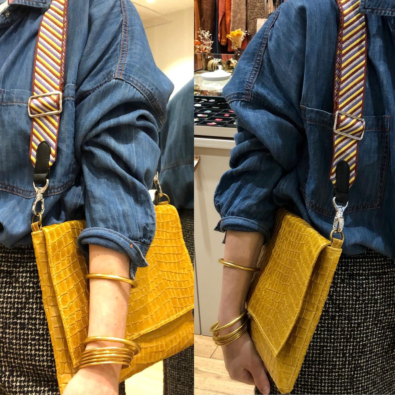 Une nouvelle anse pour un nouveau sac !!! #pimpmybaghttps://www.instagram.com/p/CKCmPxLlR_-/