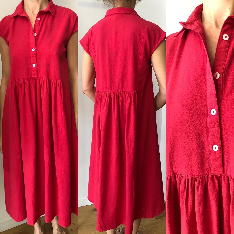 La robe coton et lin  @colores_clothing_official  En ligne lesheuresparis.frhttps://www.instagram.com/p/CNtAcx2lJJ9/