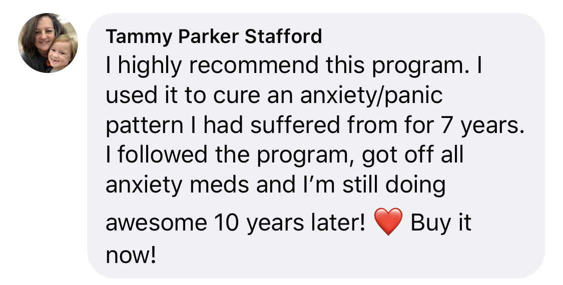 anxiety recovery retreat testimonial review