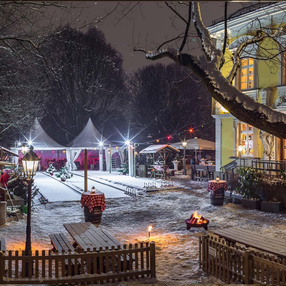 Bamberger Haus Eisstockbahnen
