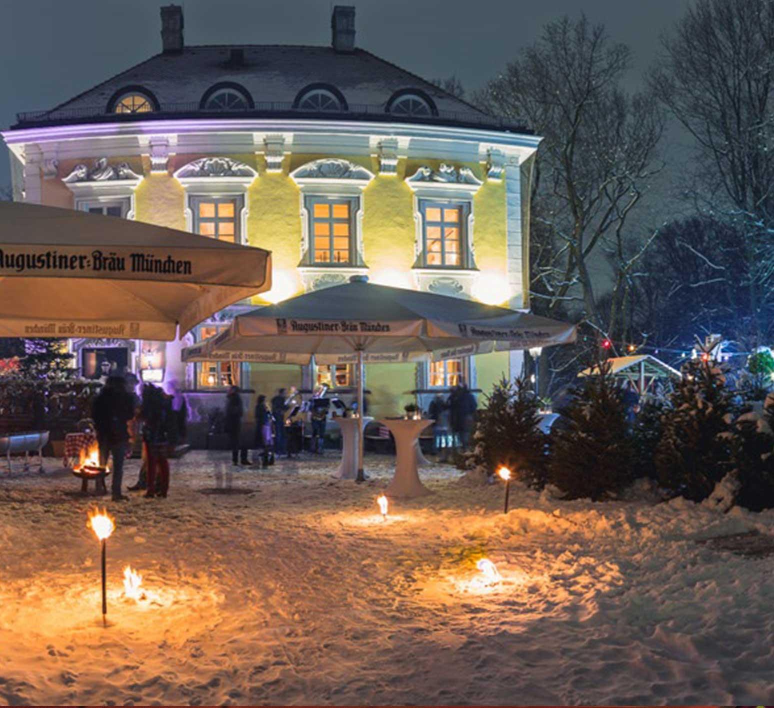 Bamberger Haus in der Nacht