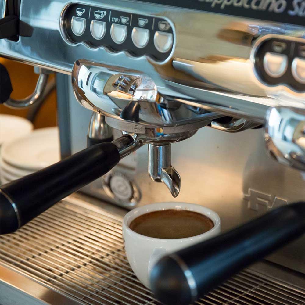 Espressomaschine Bamberger Haus