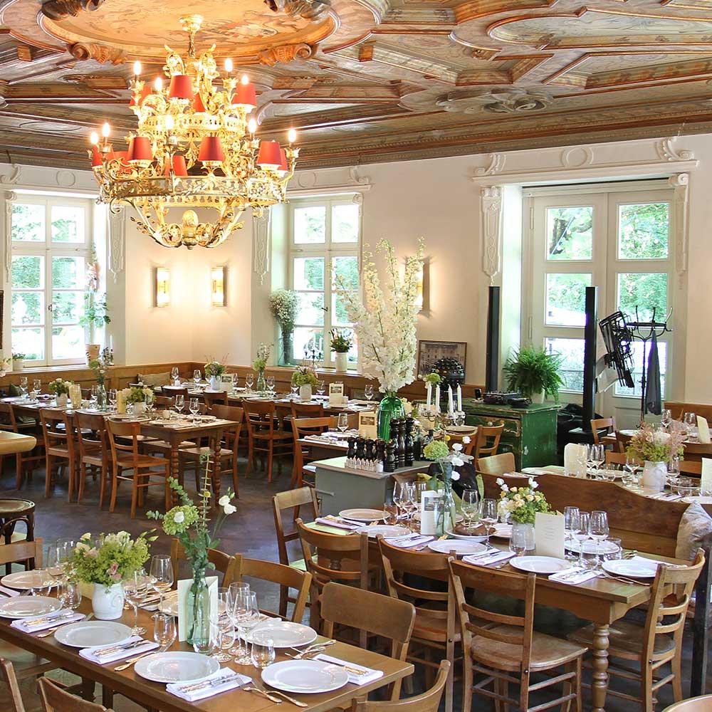 Bamberger Haus Restaurant Innenansicht
