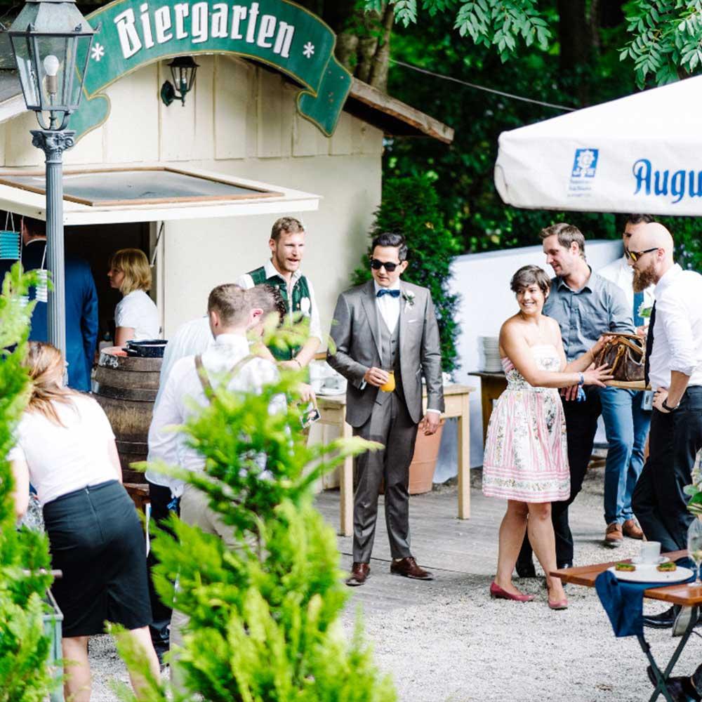 Biergarten Bamberger Haus