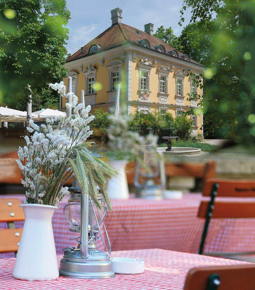 Bamberger Haus Biergarten