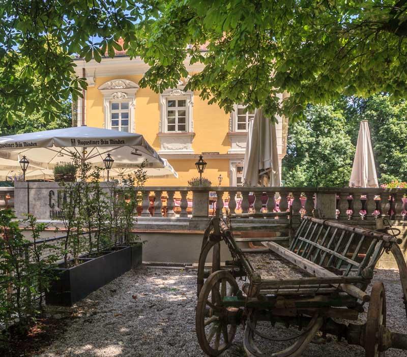 Aussenbereich Bamberger Haus