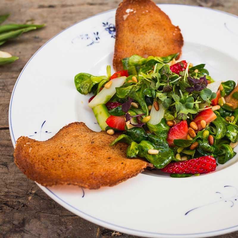 Biergarten Salat Bamberger Haus
