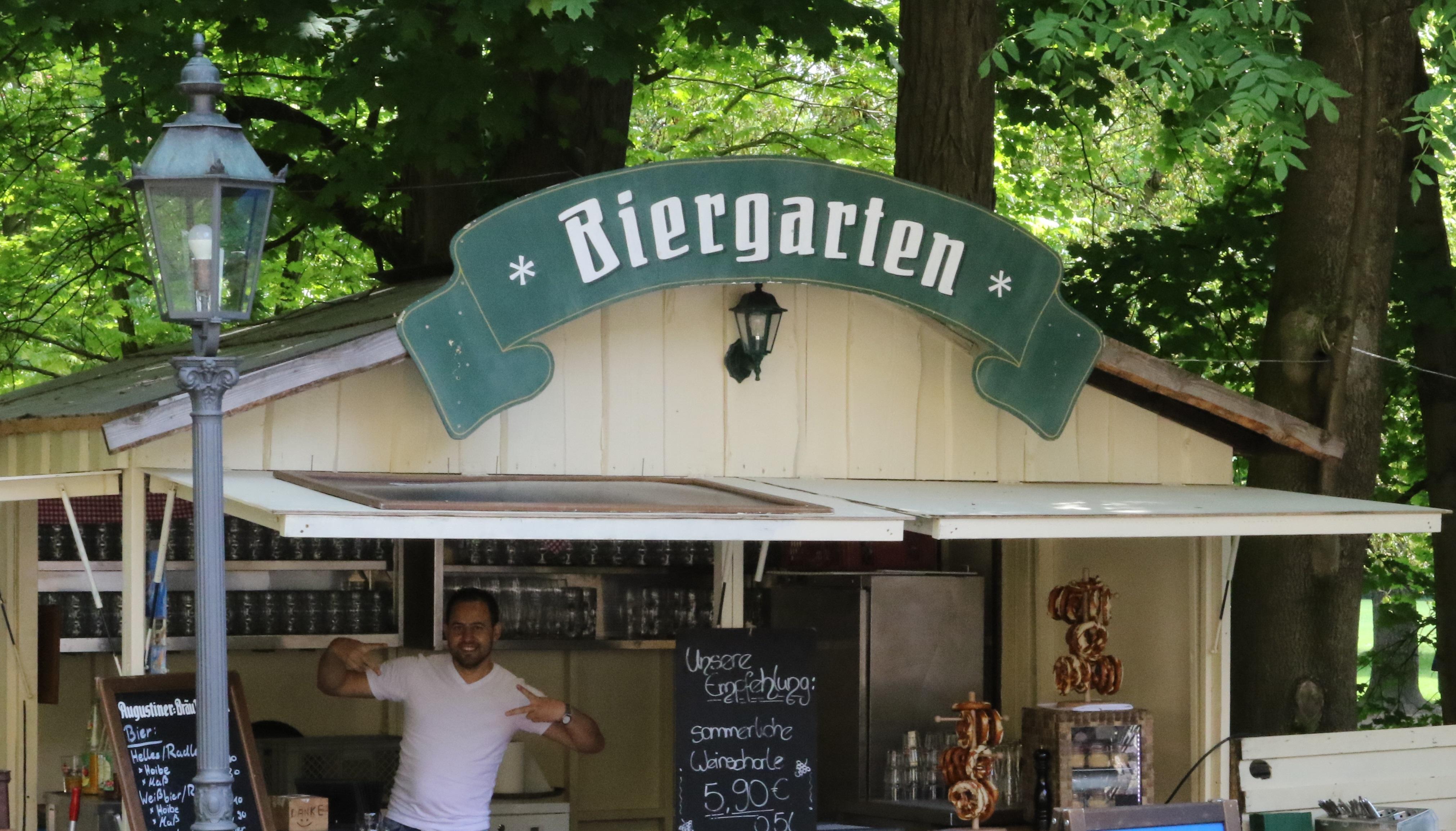 Biergarten Kiosk