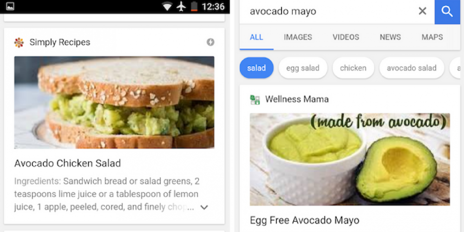 where do i find the latest information about keywords for food?