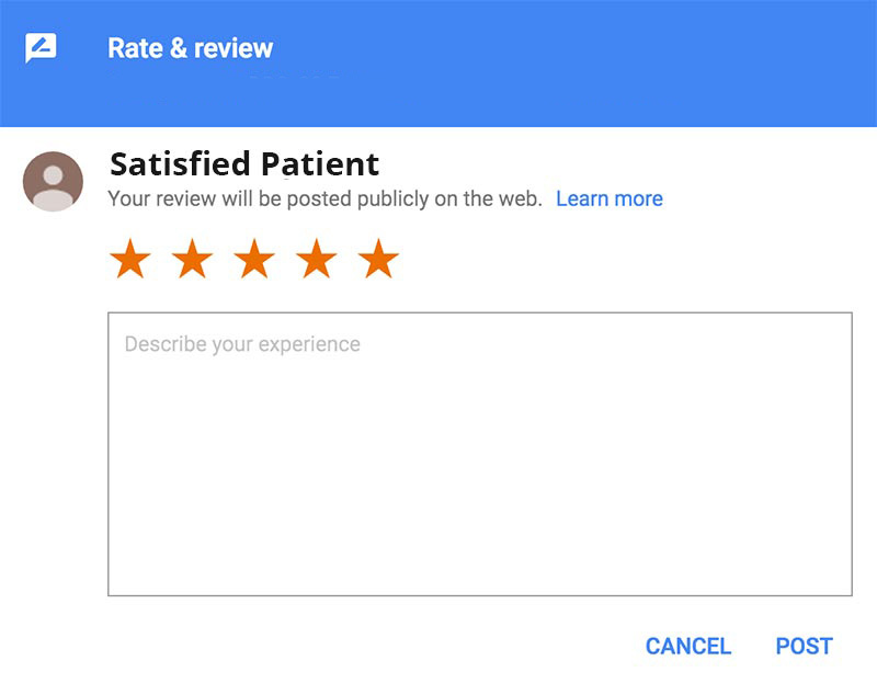 Online reviews for dentists can help improve your credibility and gain new patients