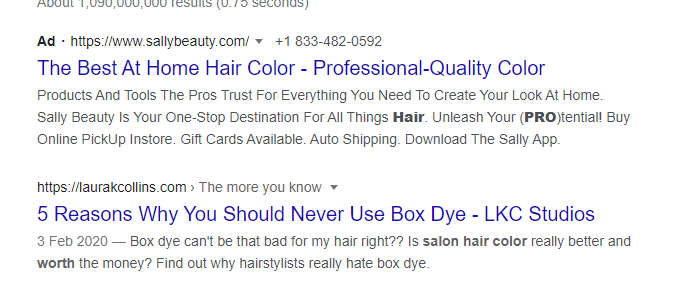 Google-screenshot-search-result