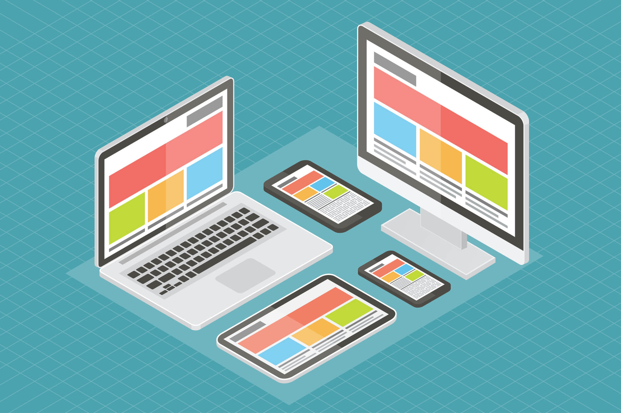 web-design-computer-equpment-mobile-phone