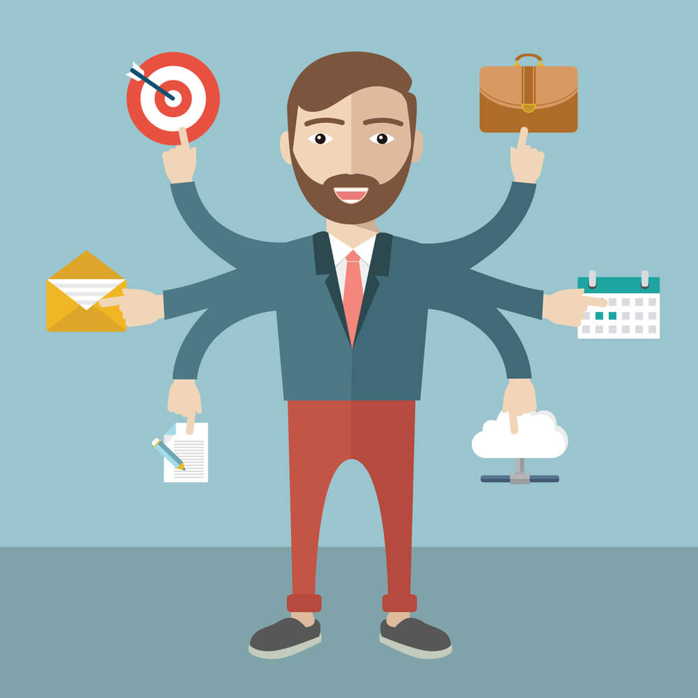 business-man-with-business-management-tools
