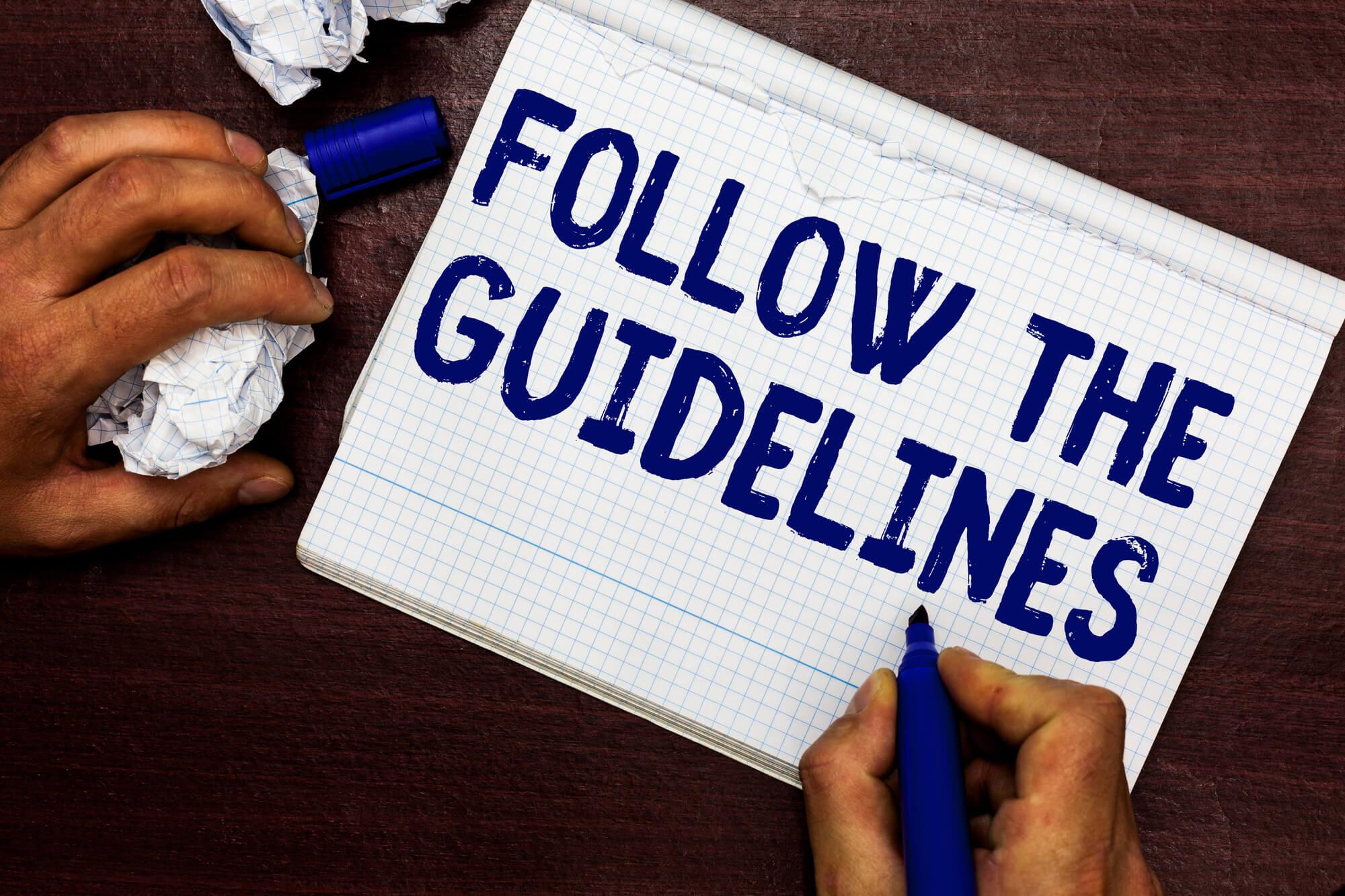 guidelines-writen-on-paper