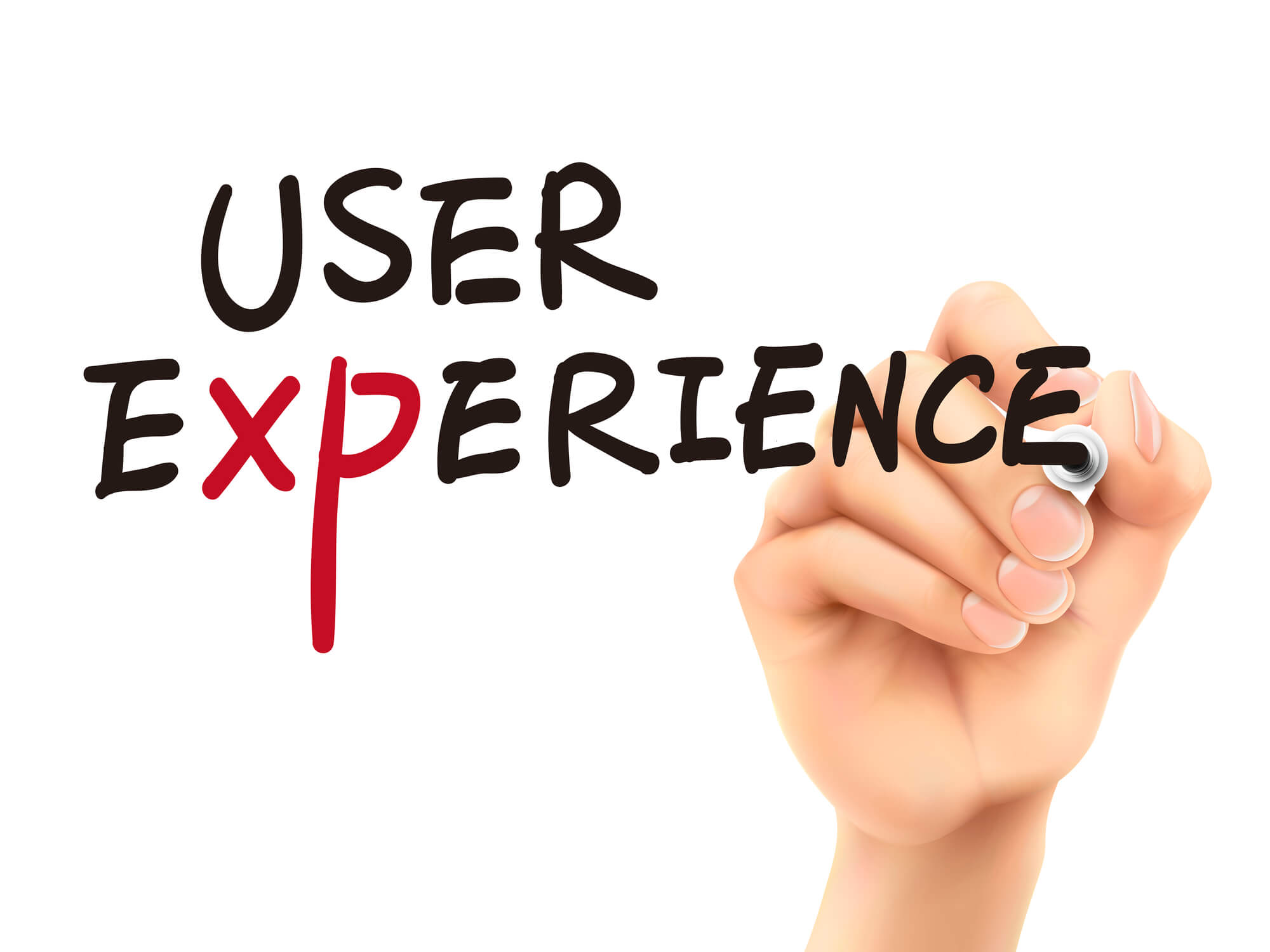3d-hand-writing-user-experience-word