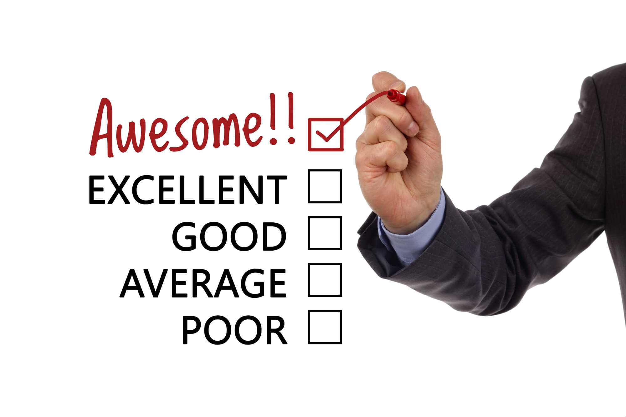 satisfied-customer-giving-review-online