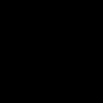 line drawn apple logo in icon bubble