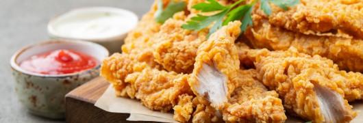 Parmesan Chicken Strips