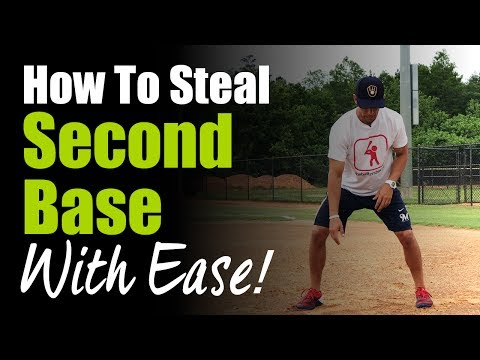 How To Steal 2nd Base With Ease! Base Stealing Tip