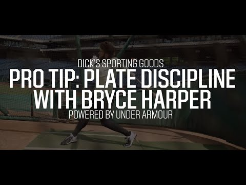 Plate Discipline with Bryce Harper