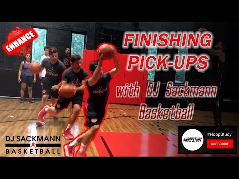 The Best Move for Drawing Fouls: Finishing Pick-Ups Featuring DJ Sackmann