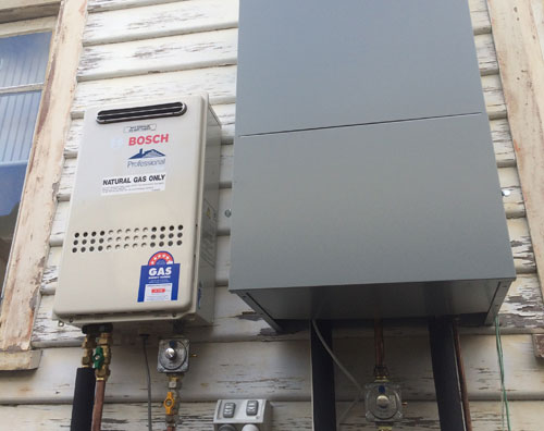 Hydronic Heating Gas Boiler