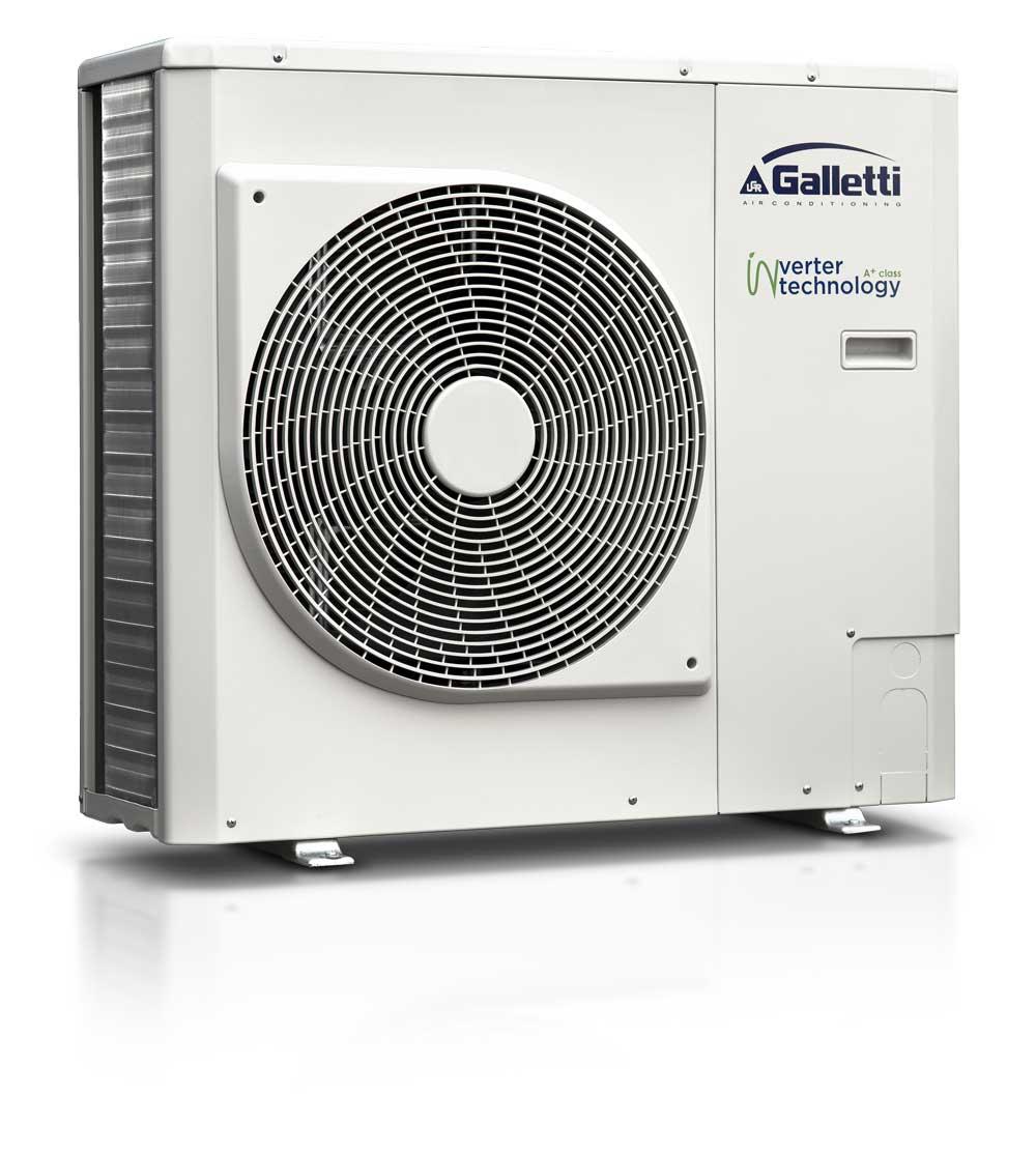 Galetti inverter technology heat pump