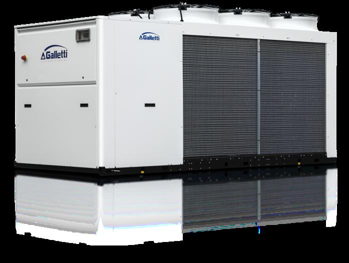 galetti high quality powerful heat pump banks