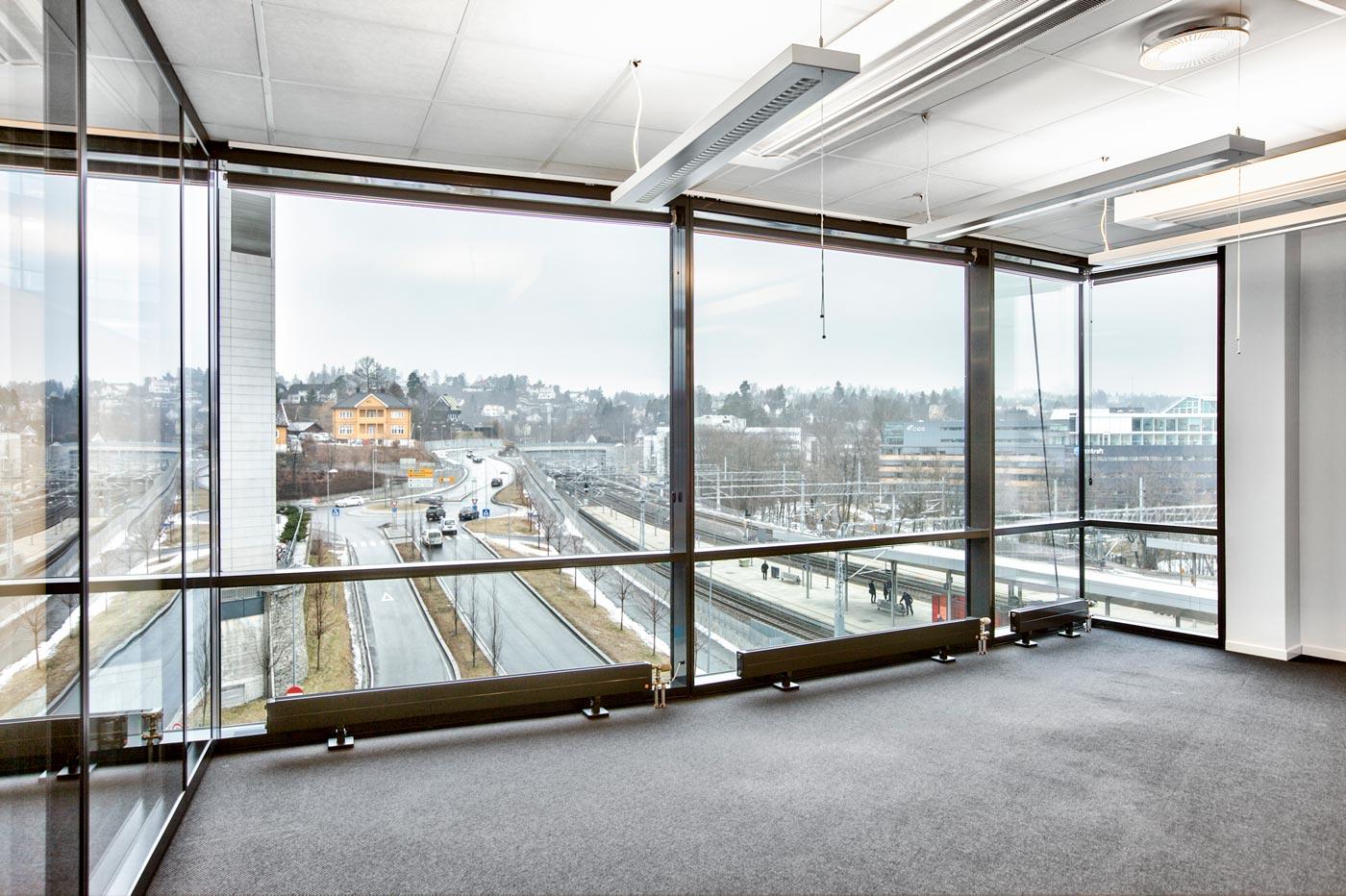 Åpne møteplasser med nydelig utsikt
