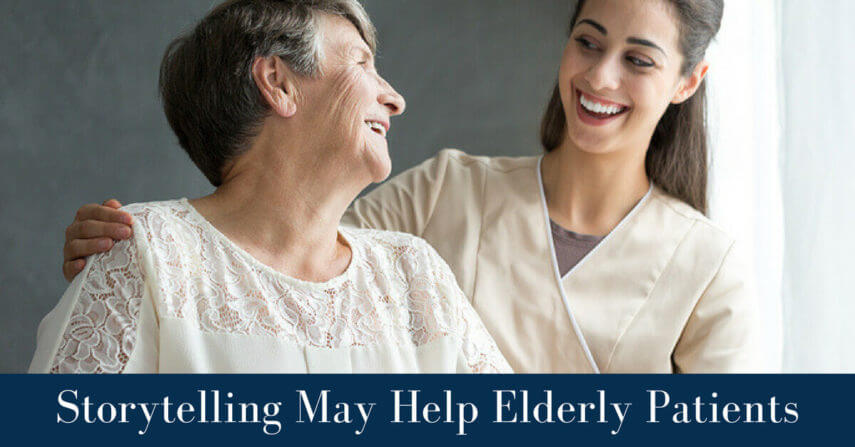 Storytelling may help elderly patients
