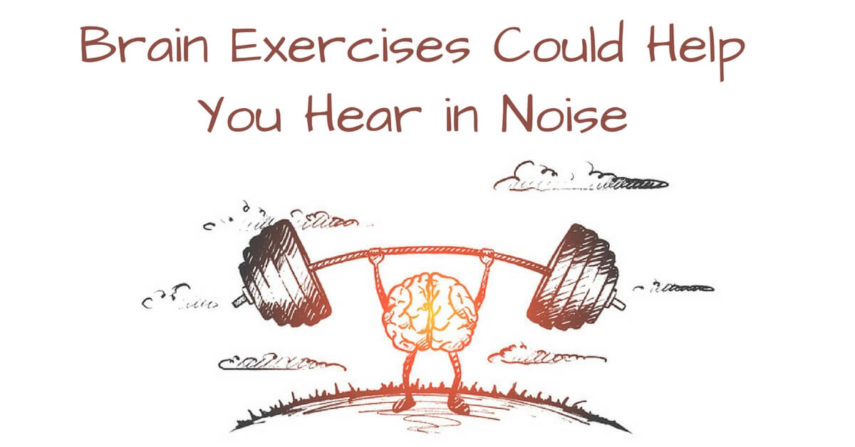 Brain Exercises Could Help You Hear in Noise