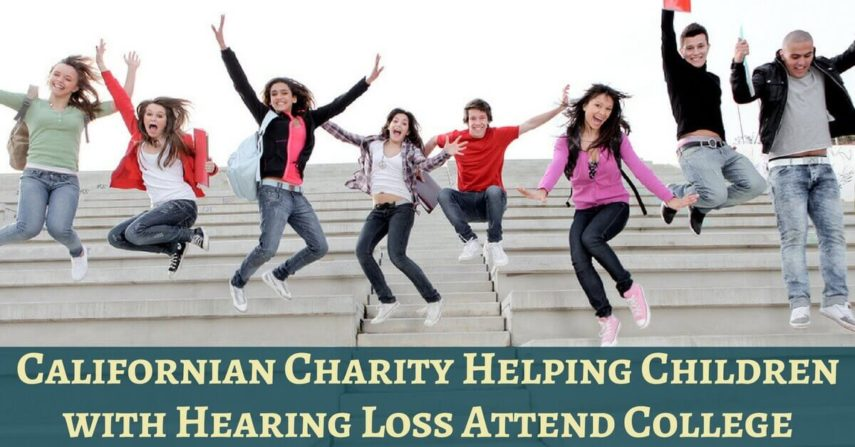 Californian Charity Helping Children with Hearing Loss Attend College