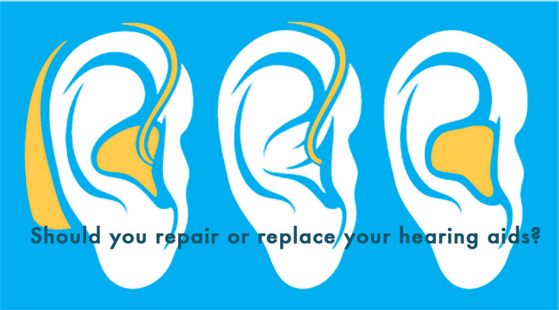 Should you repair or replace your hearing aids?