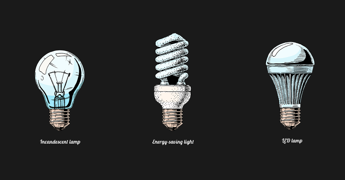 What Are the 3 Types of Light Bulbs?