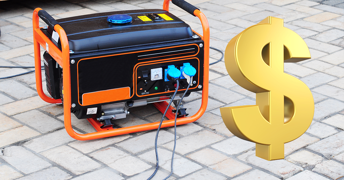 How Much Does A Power Generator Cost?