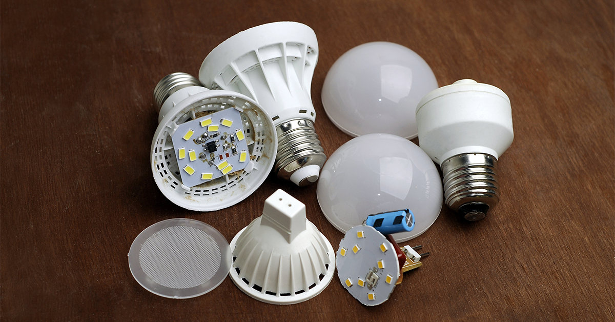 What is a Light Bulb Made Out Of?