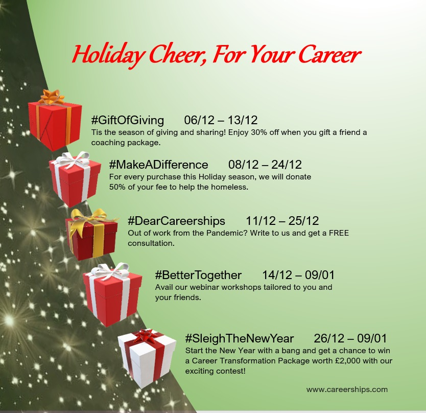 Careerships Holiday Cheer For Your Career