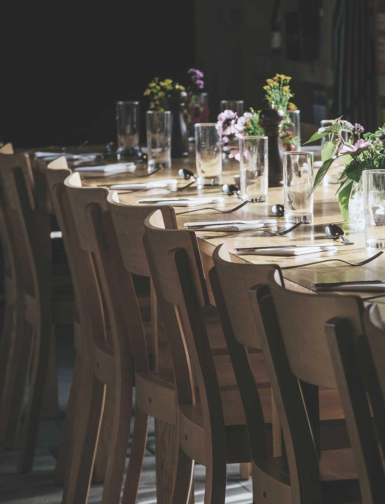 Table de restaurant