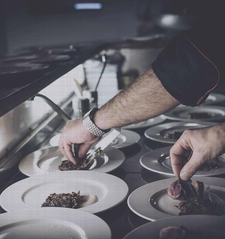 La cuisine de l'Auberge du Moulin Neuf