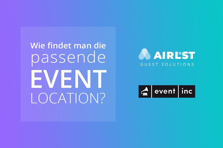 Event Location finden