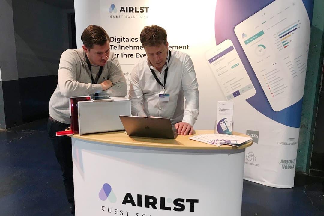 Zuverlässiges Teilnehmermanagement mit der digitalen Lösung von AirLST