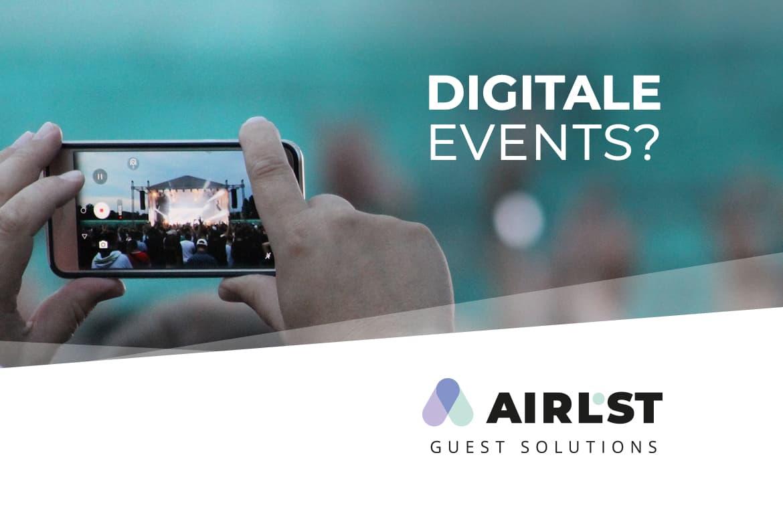 Digitale Events als alternative Veranstaltungsformate in der Corona Krise.