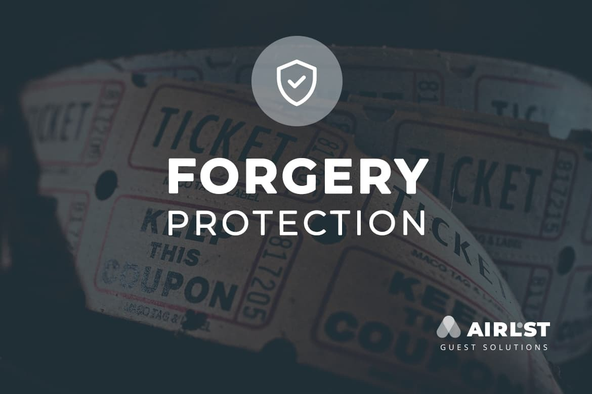 forgery-proof digital tickets and guestlists