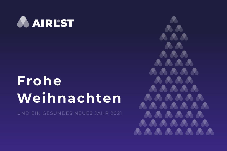 AirLST wünscht Frohe Weihnachten und ein gesundes neues Jahr!