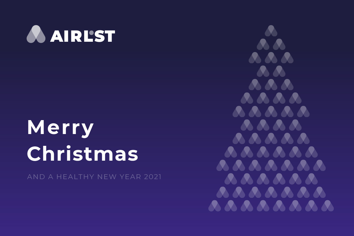 AirLST wishes you a Merry Christmas and a healthy new year!
